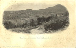 Snow Hill And Monadnock Mountain