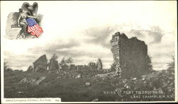 Ruins Of Fort Ticonderoga