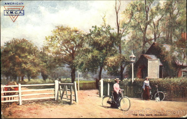 American Y. M. C. A. The Toll Gate Dulwich Bicycles