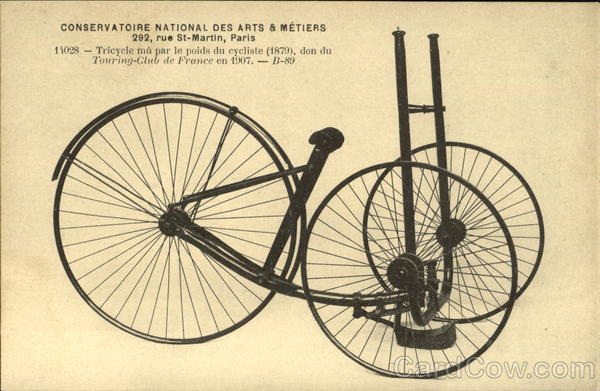 Conservatoire National Des Arts & Metiers Bicycles