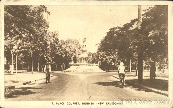 Place Courbet Noumea New Caledonia Bicycles