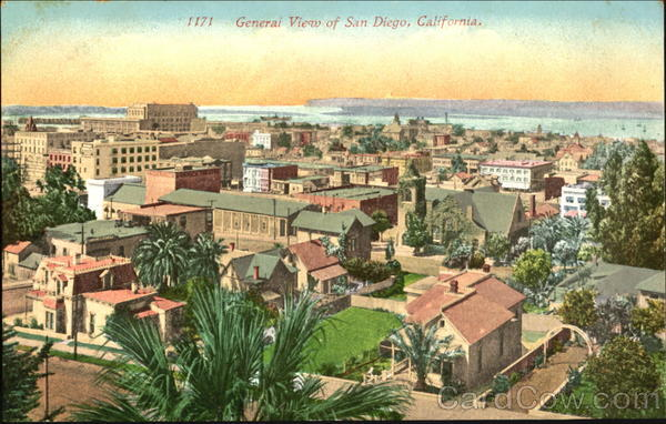 General View Of San Diego California