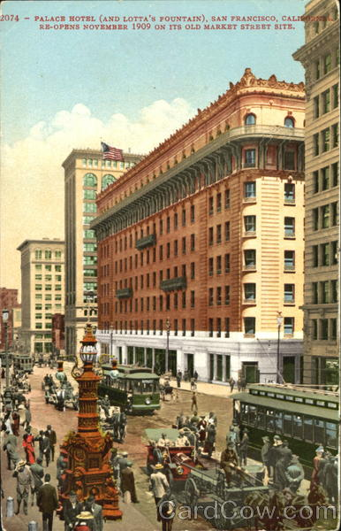 Palace Hotel San Francisco California