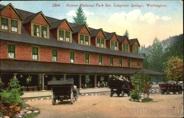 Rainier National Park Inn Longmire Springs Washington