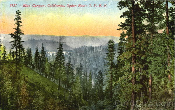 Blue Canyon, St. James Cache Deal Seattle Washington Scenic California