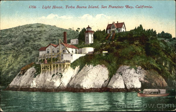 Light House Yerba Buena Island San Francisco California