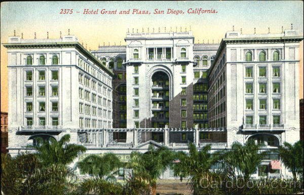 Hotel Grant And Plaza San Diego California