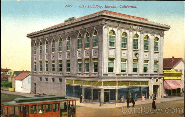 Elks Building Eureka California