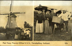 Piet Ysco Tourist Office V. V. V. Terschelling Holland
