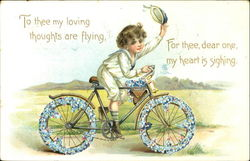 To Thee My Loving Thoughts Are Flying For Thee Dear One My Heart Is Sighing