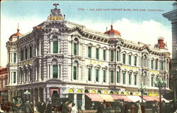 San Jose Safe Deposite Bank Postcard