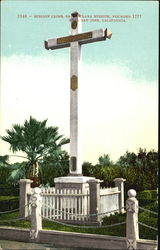 Mission Cross Postcard