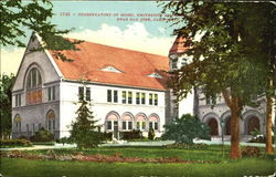 Conservatory Of Music, University of Pacific Postcard
