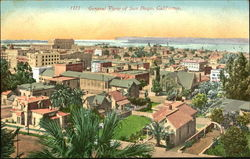 General View Of San Diego