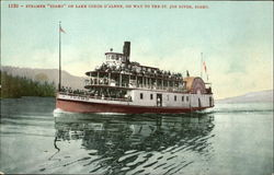 Steamer Idaho On Lake Coeur D'Alene