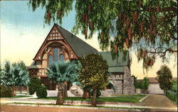 All Saints Episcopal Church Postcard