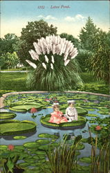 Lotus Pond Postcard