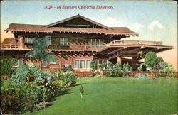 A Southern California Residence Postcard