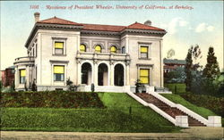 Residence Of President Wheeler, Univrsity of California