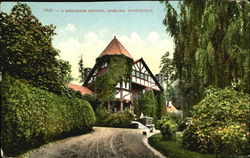 A Residence Section Postcard