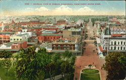 General View Of Fresno From Court House Dome