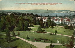 Laurelhurst And Alaska-Yukon-Pacific Exposition Grounds, Volunteer park Postcard