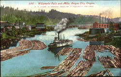 Willamette Falls And Mills