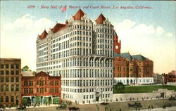 New Hall Of Records And Court House Postcard