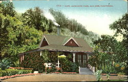 Cafe Alum Rock Park Postcard