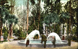 Fountain, St. James Park Postcard
