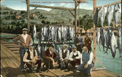 A Catch Of Albacore Postcard