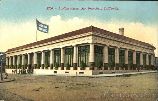 Lurline Baths San Francisco California