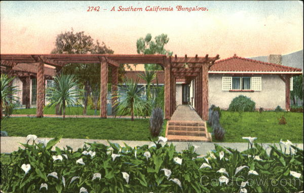 A Southern California Bungalow Scenic