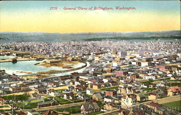 General View Of Bellingham Washington