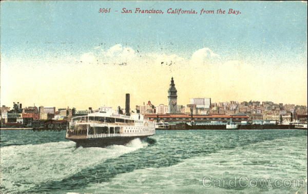 San Francisco From The Bay California