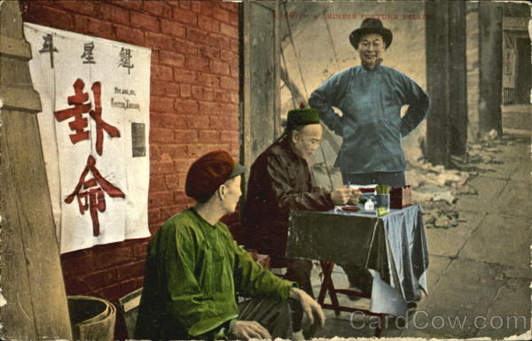 A Chinese Fortune Teller Men