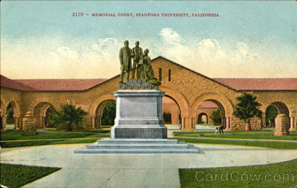 Memorial Court, Stanford University California