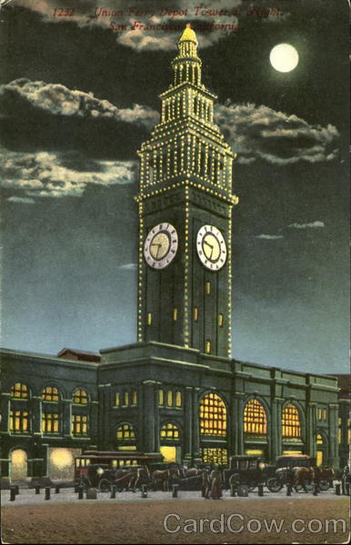 Union Ferry Depot Tower San Francisco California