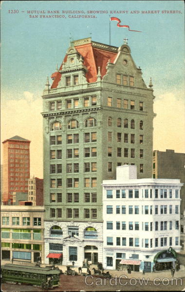 Mutual Bank Building, Kearny and Market Streets San Francisco California
