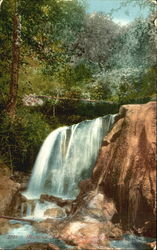 Mammoth Head Falls Postcard