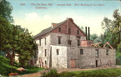 The Old Stone Mill Postcard