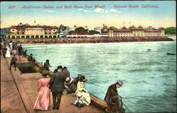 Auditorium Casino And Bath House From Wharf