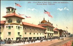 Front View Of Bath House Casino And Auditorium