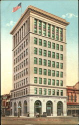 First National Bank Postcard