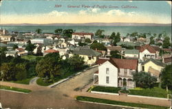 General View Of Pacific Grove