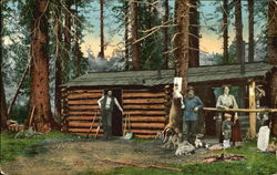 The Forest Ranger's Cabin