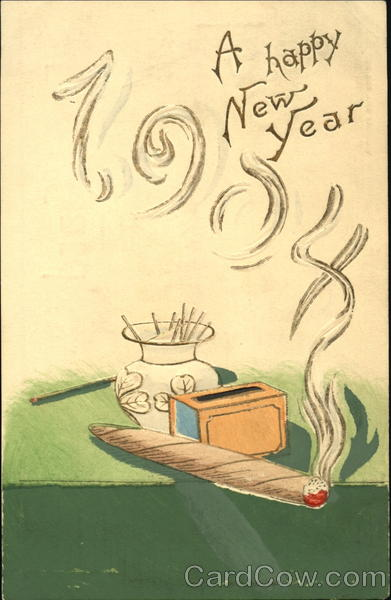 A Happy New Year 1904 New Year's