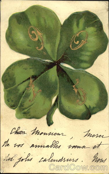 1905 Clover New Year's