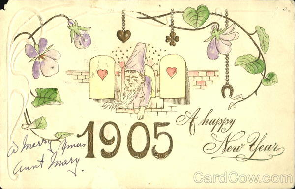 1905 A Happy New Year Elves