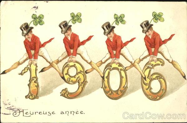 1906 Heureuse Annee